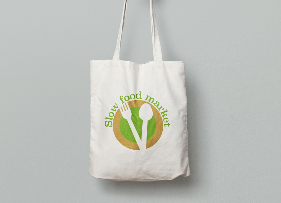 tote bag slow food market